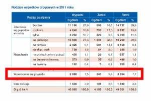 wypadki-w-Polsce-2011-typy