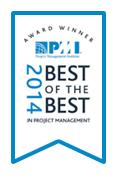 pmi award 2014